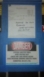 asbestos posting